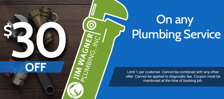 discount on any plumbing service