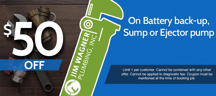 discount on battery back up sump or ejector pump